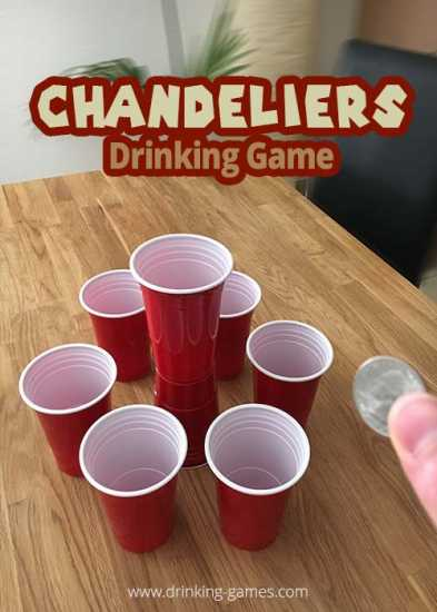 Chandeliers coin drinking game rules drinking games chandeliers coin mozeypictures Image collections